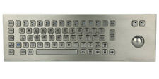 Ip65 Vandal Resistant Panel Mount Proof Keyboards Industrial Keypad Trackball