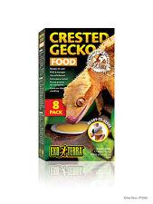 Exo Terra Crested Gecko Food 8 Pack Reptile Reptile Lizard