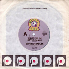 DAVID KNOPFLER Whispers Of Gethsemane / Angie & Johnny 45