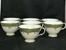 7 Royal Doulton Fontainebleau Tea Cups ONLY