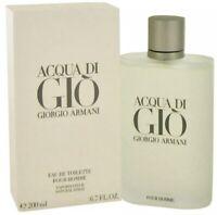 Acqua Di Gio by Giorgio Armani 6.7 Eau de Toilette  for Men New & Sealed Box