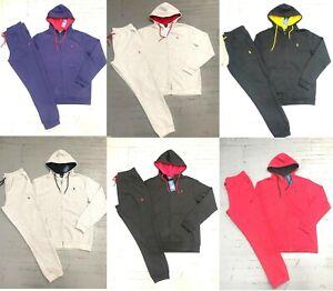 Polo Ralph Lauren Mens Athletic Classic Fleece Hoodie Sweatpant Track Suit