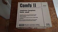 MSA Comfo II Respirator Facepiece 479532 Small - Black
