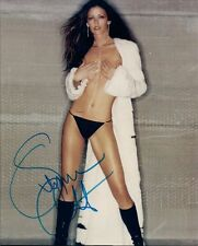 08/2000 Playboy Playmate Summer Altice SIGNED photo topless(covered) UACC COA