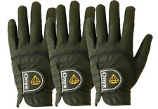 Onyx Junior Kids Golf Gloves 3 Pack Size Left Hand Small Black For Ages 4 - 7