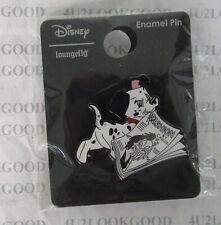 Disney Pin Loungefly Dalmatian Puppy & Cruella Magazine BoxLunch Exclusive New