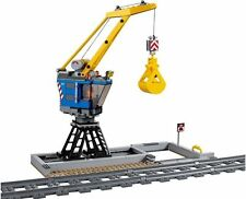 LEGO Train Cargo Station & Sliding Trackside Crane From City Set 60098