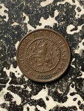 1885 Netherlands 1/2 Cent Lot#Q1481