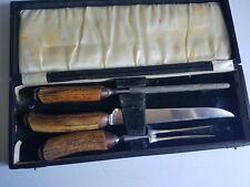 Carving Set Knife in Original Box Vintage