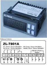 TERMOREGOLATORE E UMIDOSTATO/IGROSTATO, (2 IN 1) ZL-7801A 220V PER INCUBATRICI