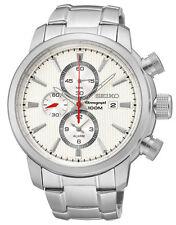 Seiko SNAF43 Snaf43p1 Mens Chronograph Alarm Watch Wr100m