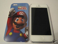 The NEW Super Mario Bros. iPhone SE 5S 5G 5 Full Back Plastic Protective Case