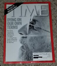 Time Magazine 2000 SEPTEMBER 18 Dying on our Own Terms