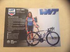 Hayley Jones WNT-ROTOR Pro Cycling Women's Rider Card