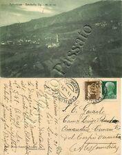 Cartolina di Pallavicino e Rocchetta (Cantalupo Ligure), panorama - Alessandria
