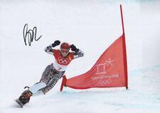 ESTER LEDECKA Olympia 2018 Gold Foto 20x30 original signiert IN PERSON Autogramm
