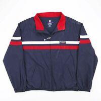 Vintage RALPH LAUREN CHAPS Navy Blue Mesh Lined Jacket Size Men's XL