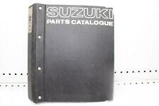 1967 SUZUKI T10 250 PARTS CATALOG LIST MANUAL (SSM)