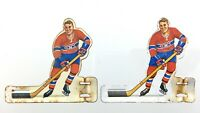 Lot 2 Vintage Hockey Table Player Metal Montreal Canadiens NHL Eagle Toys T088