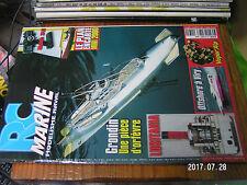 10µµ Revue RC Marine n°130 Plan encarté Voilier Mini 2000 / Grondin Lusitania