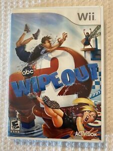 Wipeout 2 (Nintendo Wii , 2011) Tested Complete With Manual