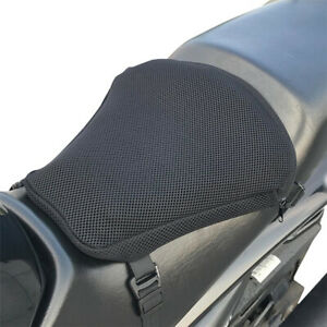Air Pad Airbag Seat Cushion Cover+Pump Accessories 36X38Cm Motorcycle Universal