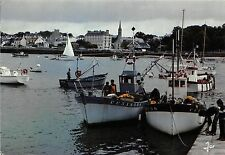 BR2214 Combrit La cale de Sainte Marine face a Benodet ship bateaux   france