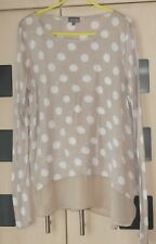 Phase Eight Light Brown Spotted  Top Size  16. Plain Trim.   Good Condition
