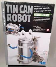 Tin Can Robot Toysmith 4M walking wobbling bog eyed fun mechanics KIT NEW
