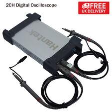 HANTEK PC USB Storage 2CH Digital Oscilloscope 20MHz 48M Sa/s 1M Byte/CH 8Bit UK