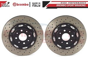FOR FIAT 500 1.4 ABARTH FRONT 305mm FLOATING BREMBO 2PC PIECE BRAKE DISCS