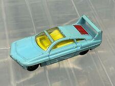 Dinky Toys 108 SAMS coche de Gerry Andersons Joe 90 Serie De Tv, suelto, Rare Blue