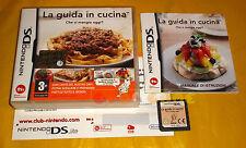 LA GUIDA IN CUCINA Nintendo Ds Versione Ufficiale Italiana ○○○○ USATO - B7
