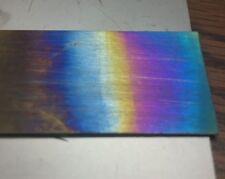 ".025"" 2.5"" 18.5"" gr5 Titanium metal sheet plate electrode cathode hho anodizing"