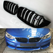 Gloss Black Front Kidney Grill Grille for BMW F32 F33 F36 F82 M4
