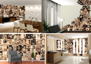 64pcs Designer Vintage Classic Wallpaper Wall Cover Office Home Studio