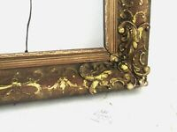 ANTIQUE GREAT QUALITY GILT FRAME FOR PAINTING  28  X 22   OUTSIDE 34 X 28 INCH