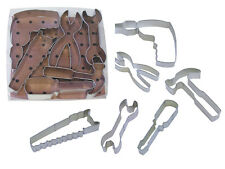 Tool Set - 6 Piece  - R&M Tinplated Steel Cookie Cutter - 1817