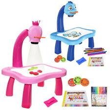 Malbrett Schreibtisch Kinder Projektor Kunst Zeichentisch Drawing Spieltisch