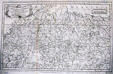 Antique map, Carte de La Siberie et des pays voisins