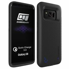 Galaxy S8 Battery Case, CASESSARY Quick Charge 3.0 Protective Charger 4500mAh