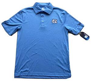 North Carolina Tar Heels Colosseum Polo Shirt Size Small Blue New! NWT! UNC