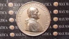 MEDAGLIA PIO XI AN XVII ARGENTO  OPUS MISTRUZZI