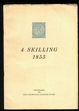 4 Skilling 1855 Centenary Of The Norwegian Postage Stamp Book