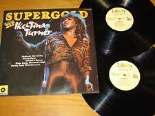 "GERMAN ISSUE 70s ROCK DOUBLE LP - IKE & TINA TURNER - UA/LIBERTY  ""SUPERGOLD"""