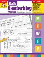 Daily Handwriting Practice Traditional Cursive, Paperback by Norris, Jill, Ac...