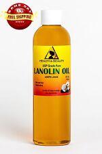 LANOLIN OIL USP GRADE by H&B Oils Center SKIN HAIR MOISTURIZING 100% PURE 4 OZ