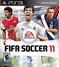NEW Sony PS3 Fifa Soccer 11 Video Game Real Player Personality Be The Goalkeeper