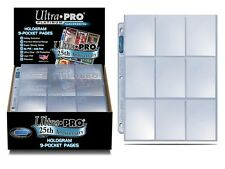 Ultra Pro 25th Anniversary 9 Pocket Page 250ct -