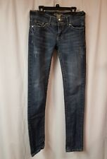 Junior's Red Rivet Jeans Size 3 Factory Distressed Preowned